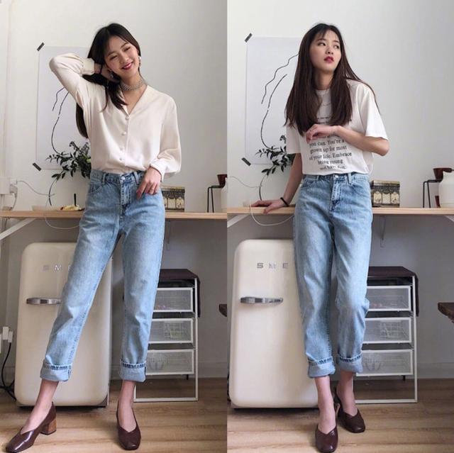 158cm到168小个子女生日常穿搭,好穿又实惠的搭配,简单随性大方