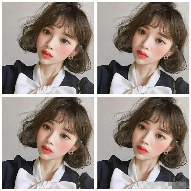 头发少的女生,做什么样的发型比较好?