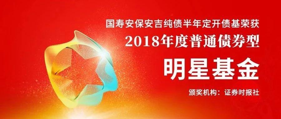 国寿安保安吉荣获2018年普通债券型明星基金奖