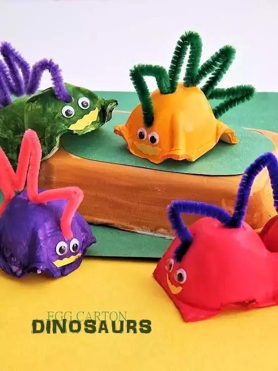 小小传承人:幼儿园环创鸡蛋托做出来的创意手工--幼师