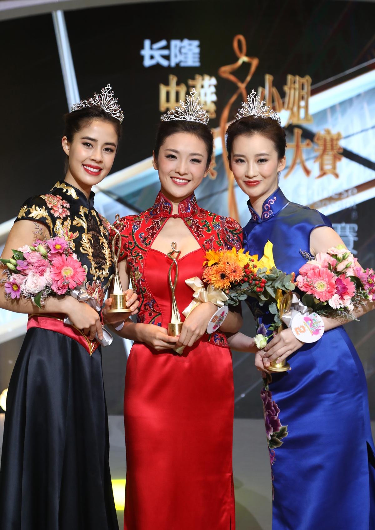 8号选顺手卢琳夺冠军 2018中华小姐环球父亲赛尽决赛绚丽收官