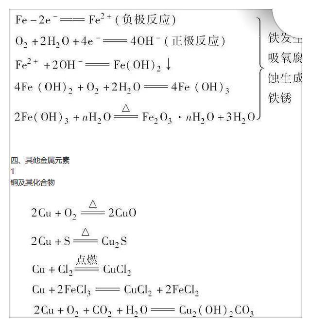 """高中化学满分:这50个贵族全""""吃透"""",考高中很轻松!私立公式老师广州图片"""