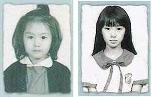 6位港星童年照,张柏芝朱茵从小美到大,看到刘德华大家不淡定了