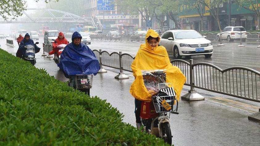 最低17℃!冷空气+大雨组团杀到 郑州连下8天雨