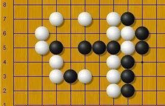 黑先,能否抓住白弱点出棋?需要仔细计算