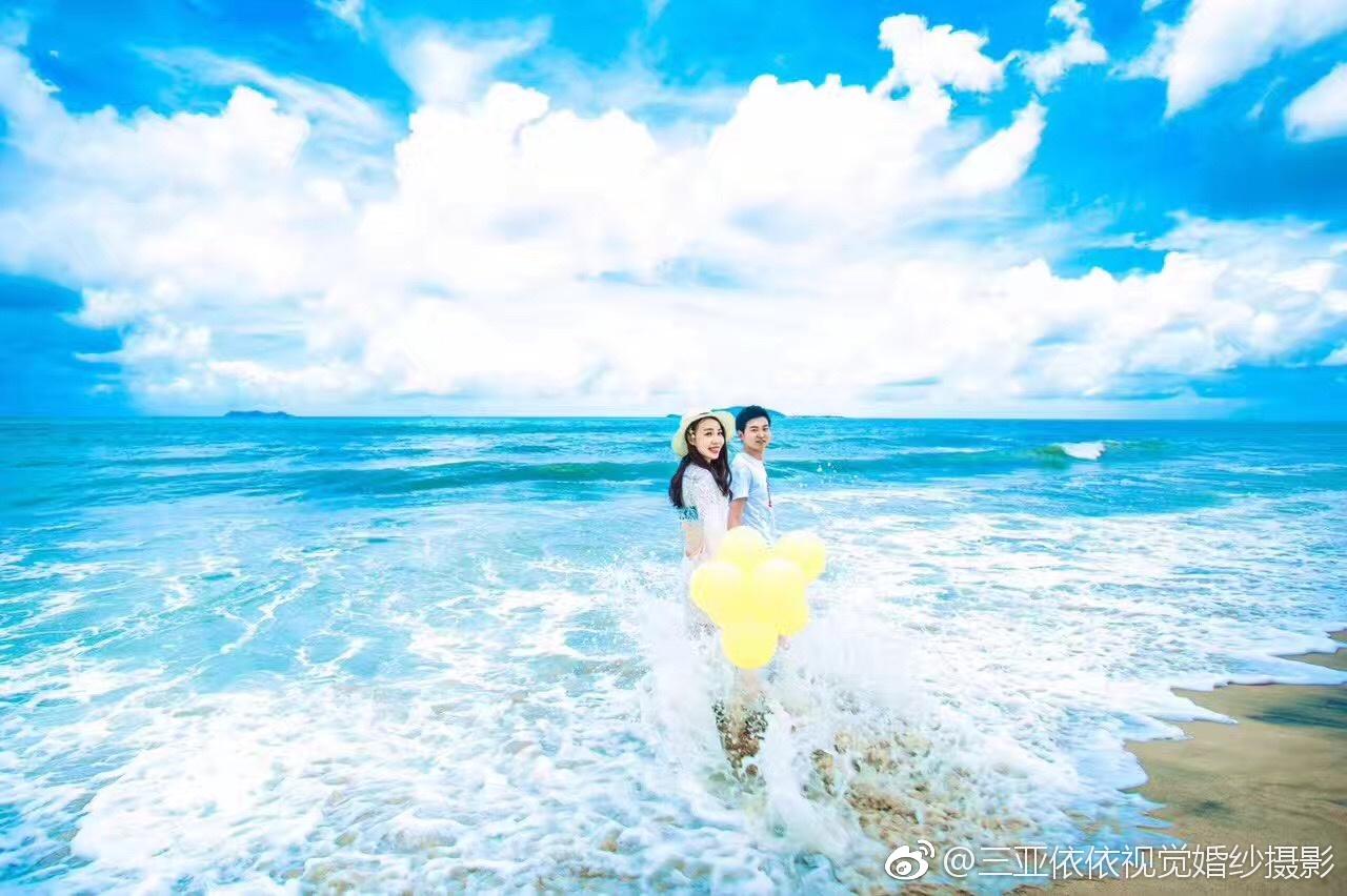 三亚旅行#  爱情是一瞬间,更是一辈子
