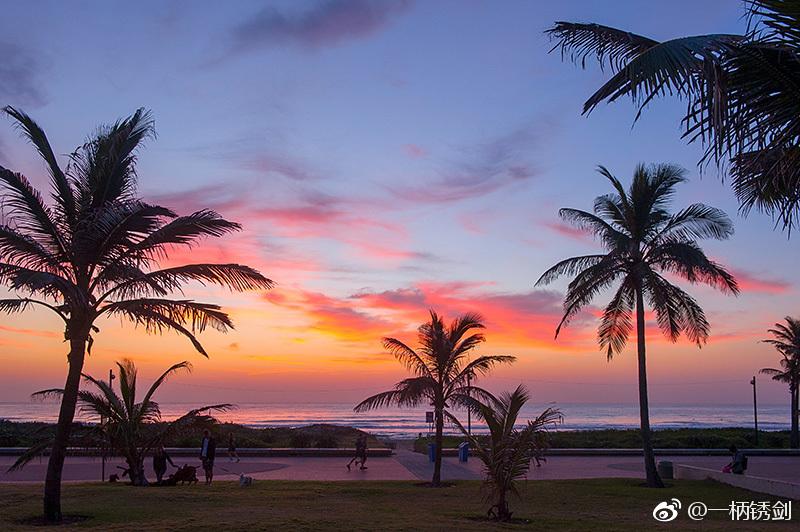南非德班 迷人的印度洋亚热带风情