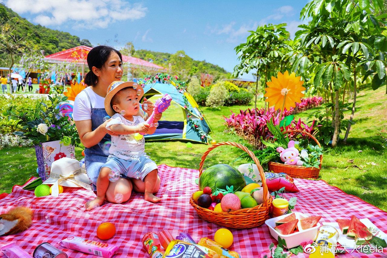 广东深山有世界最大的观音像 还能带孩子露营野餐
