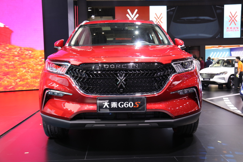 2019上海车展:大乘G60S车型首发亮相