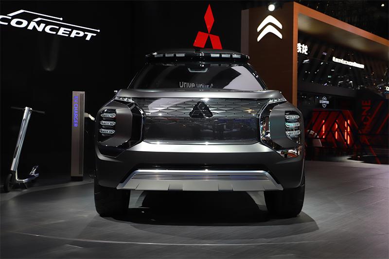 2019上海车展:三菱e-Yi CONCEPT概念车实拍