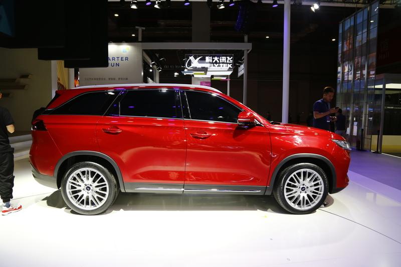 2019上海车展:欧尚X7亮相 有望下半年上市