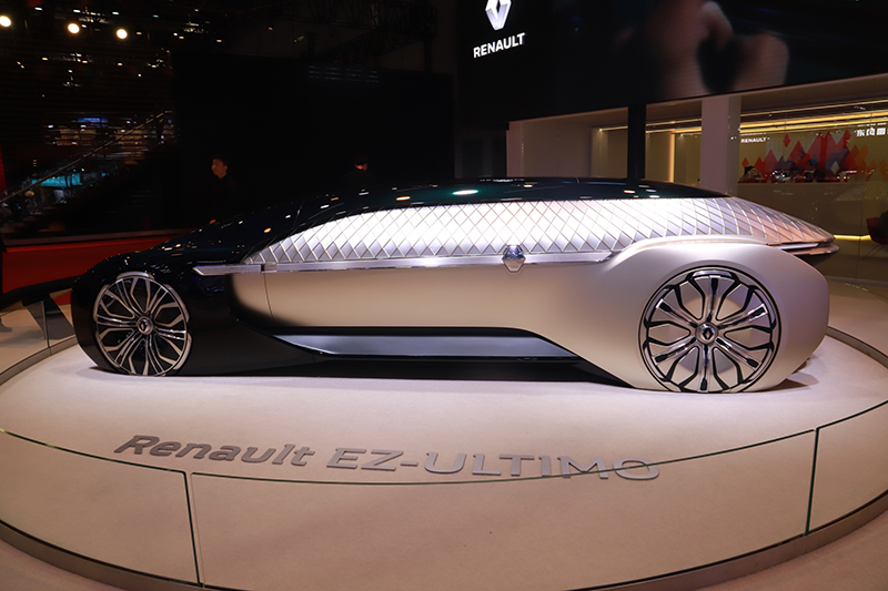 2019上海车展:展望未来出行 雷诺EZ-ULTIMO概念车国内亮相