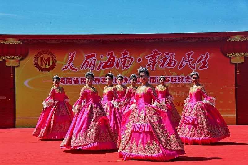 海南省民生养老协会迎新春大联欢