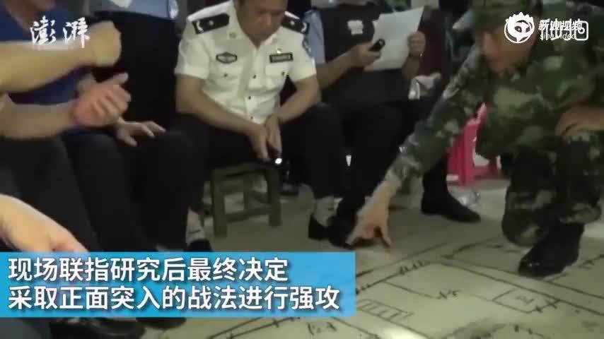 广西一男子枪杀4人后拒捕 被武警击毙