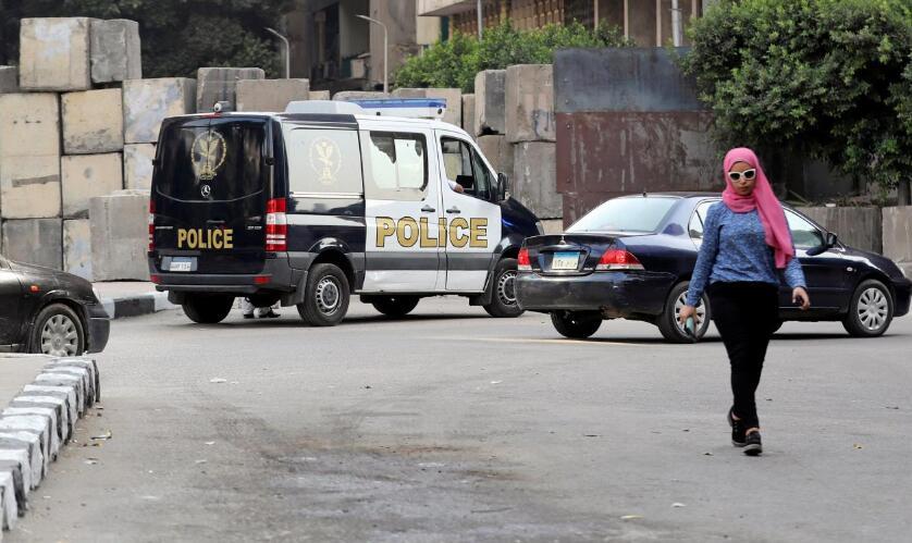 美国驻埃使馆附近发生爆炸无伤亡 一名24岁男子被拘捕