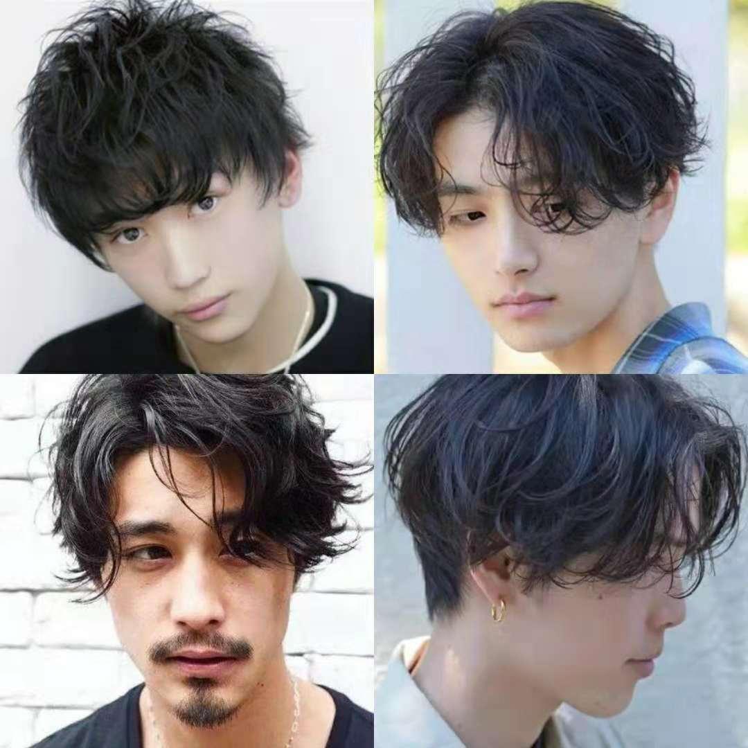 头发密而且硬的男生,留什么发型比较好?图片