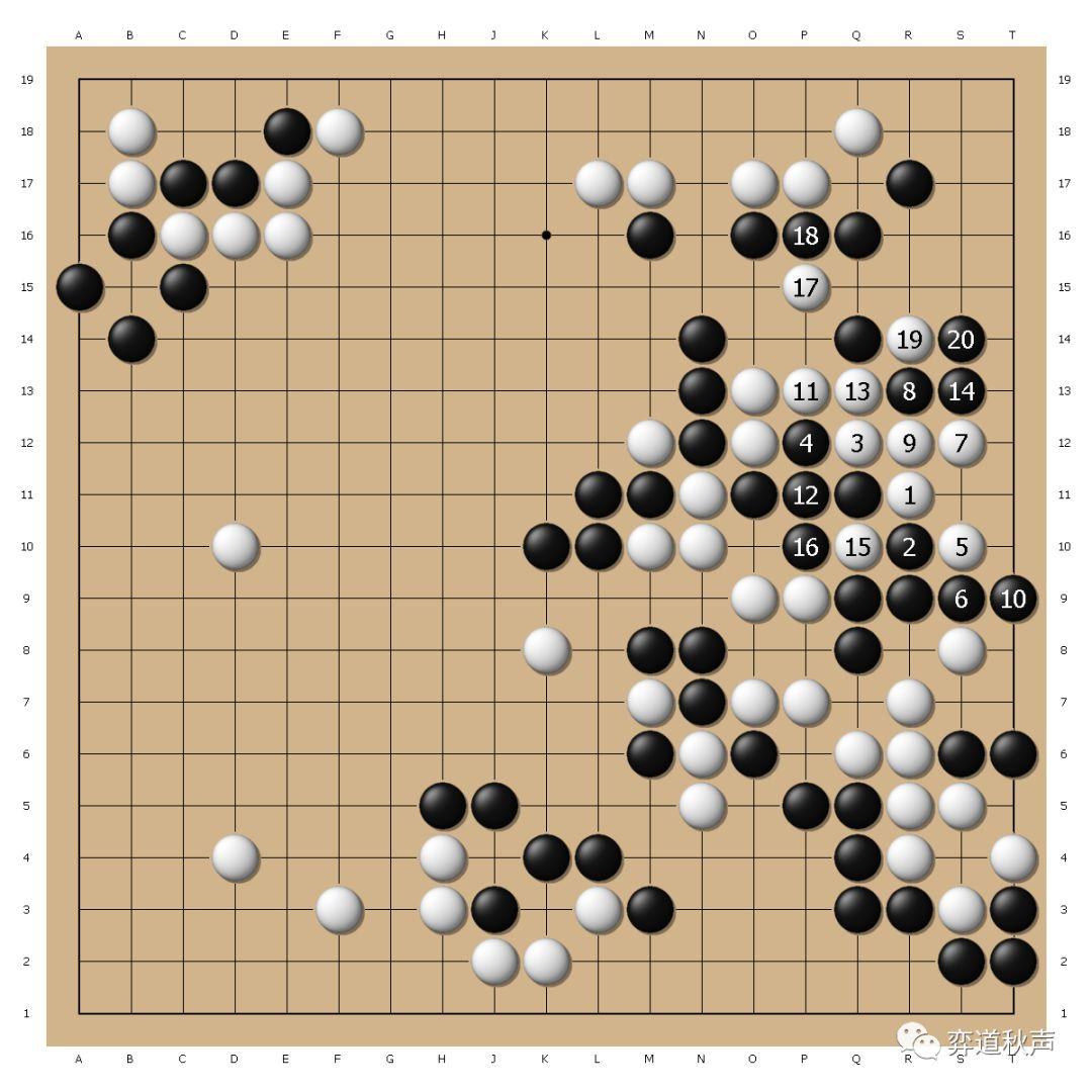 秀行名局系列(1) 绝境屠龙卫冕棋圣 大长考下的杀招引导大逆转