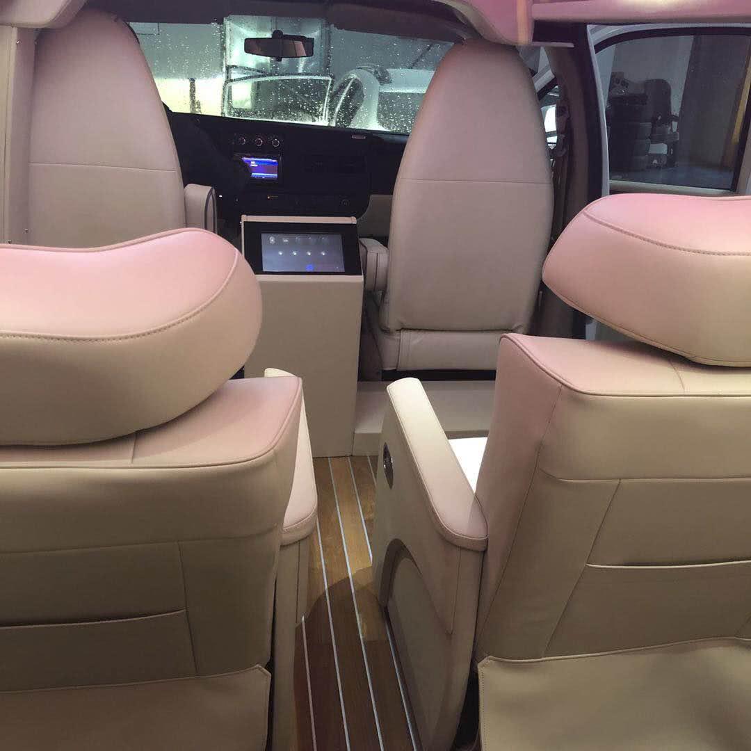 GMC商务之星房车内饰焕新,朴素大气舒适实用