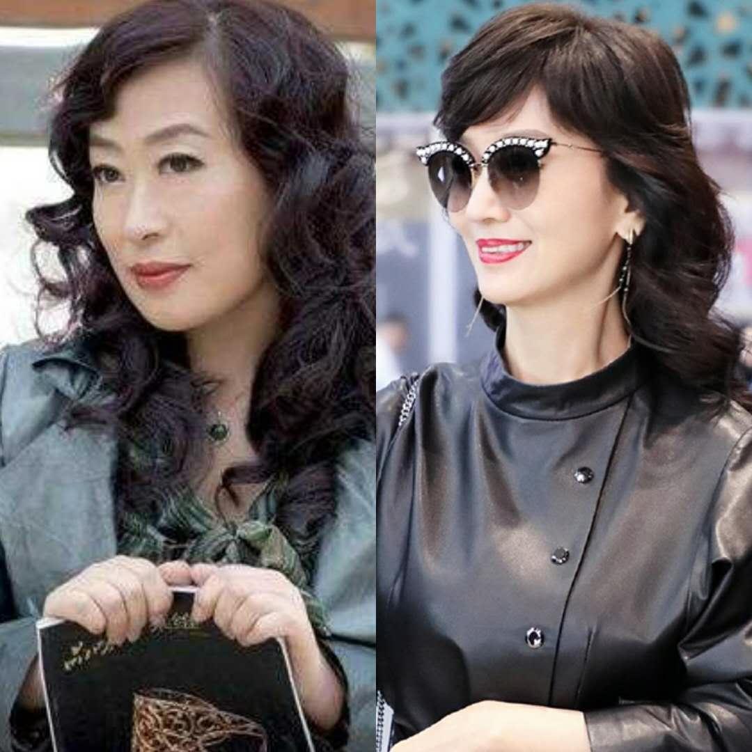 奔五的女人适合什么发型?宁静许晴闫妮和林志玲的发型图片