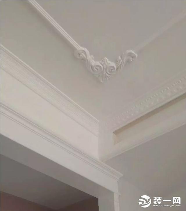 石膏线吊顶装修效果图赏析