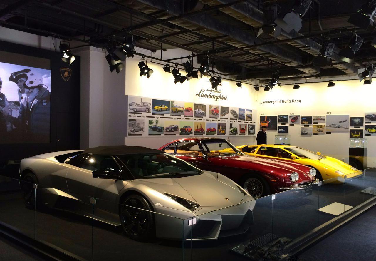 中国唯一的兰博基尼博物馆,里面不到5台车,陈百祥的车也在