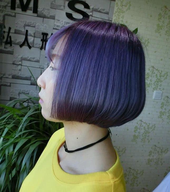 """""""短发烫""""是齐下巴露出最美的发型,烫发你颈部的线条性感!kylie灯笼图片"""
