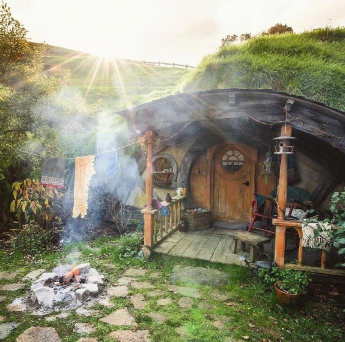 中土世界的世外桃源——霍比特村