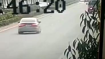 车祸66车讯疑似奥迪RS3惨烈车祸,只在一念之差