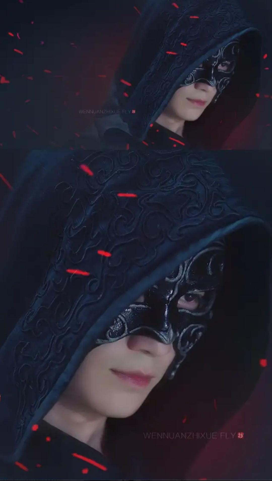 镇魂黑袍使手绘