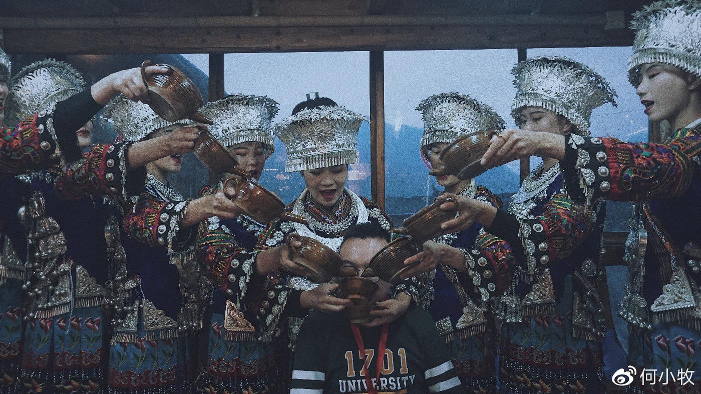 在贵州西江 体验道地苗族美食