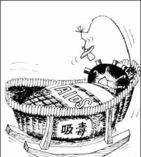 梅毒螺旋菌手绘图