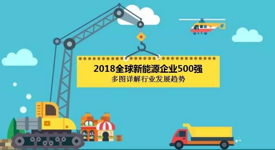 2018全球新能源企业500强 中国企业上榜最多