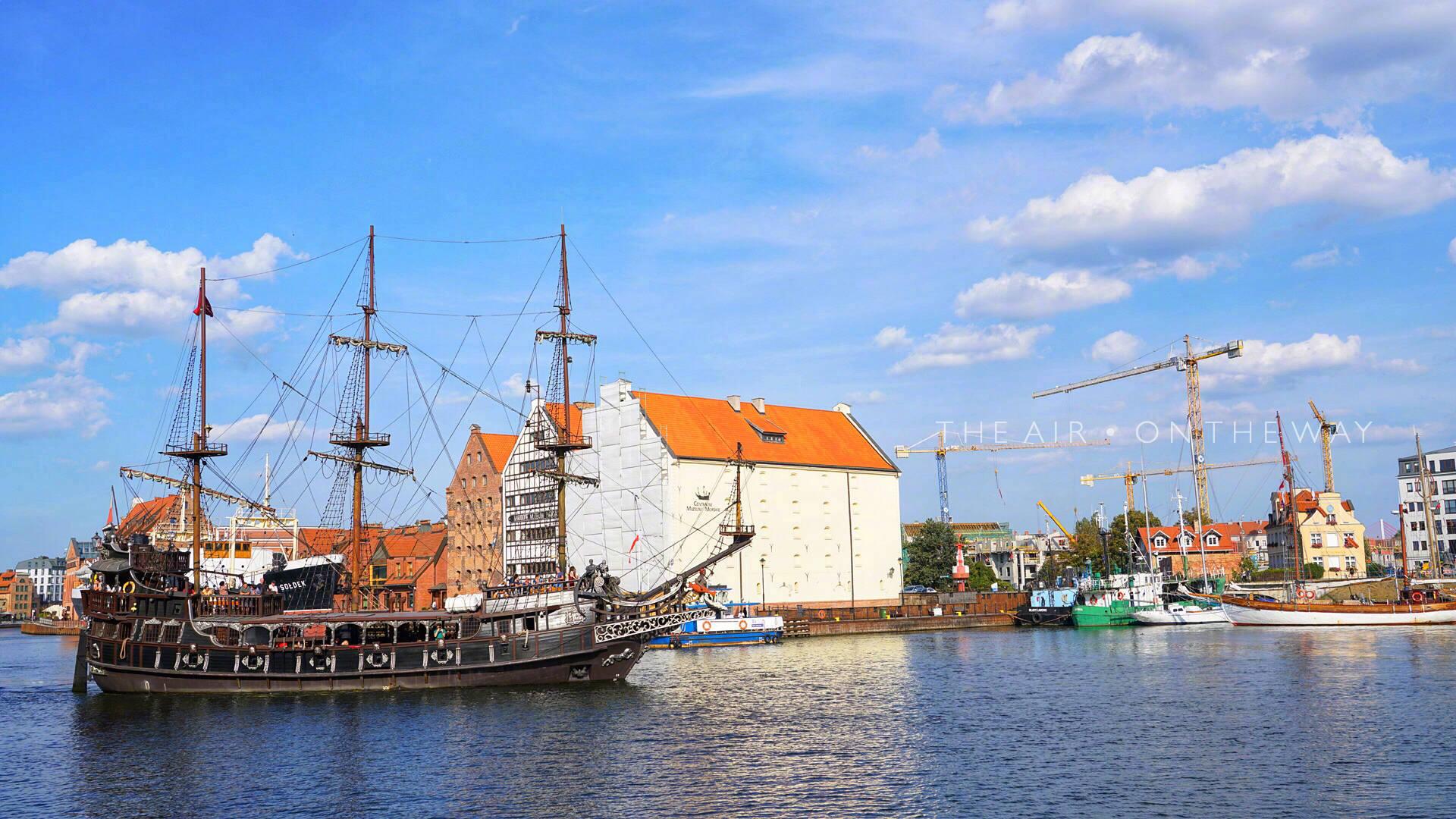 波兰格但斯克是一个濒临波罗的海的小城