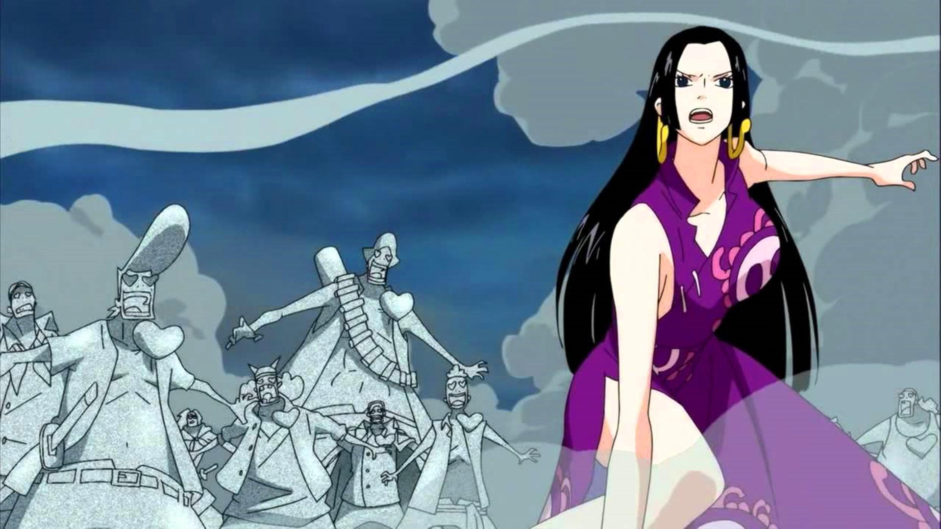 海贼王:女帝的实力一直被隐藏,真实实力仅次于大将图片
