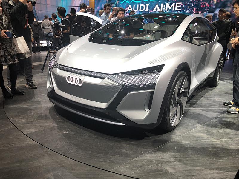 2019上海车展:奥迪AI:me概念车发布