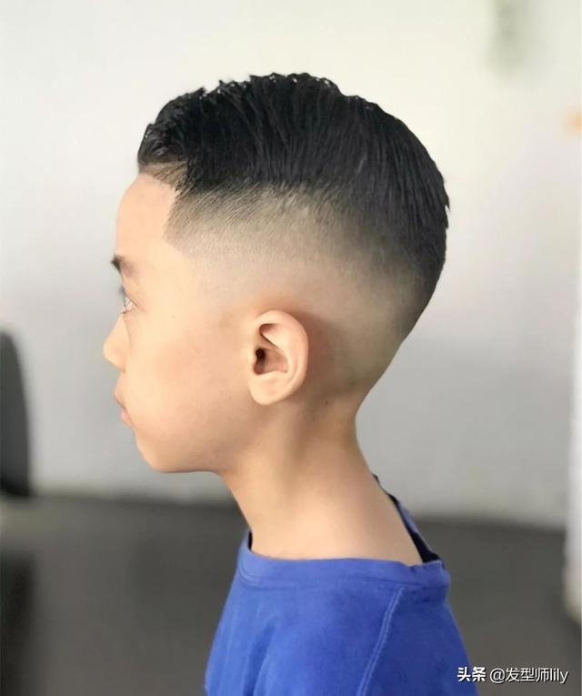 小男孩发型图片2019 2019小男孩最潮短发发型图片