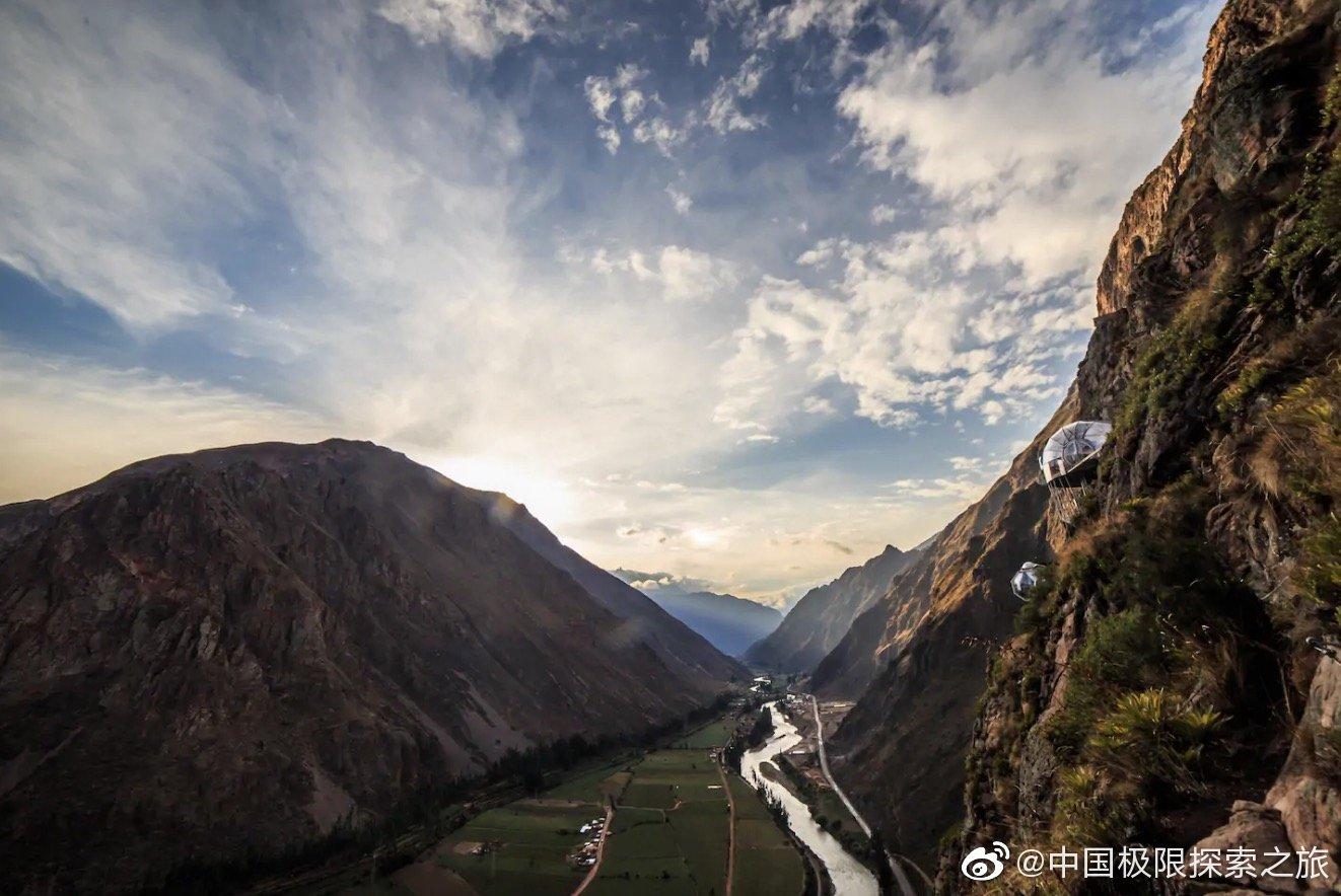秘鲁的网红悬崖酒店Skylodge Adventure S