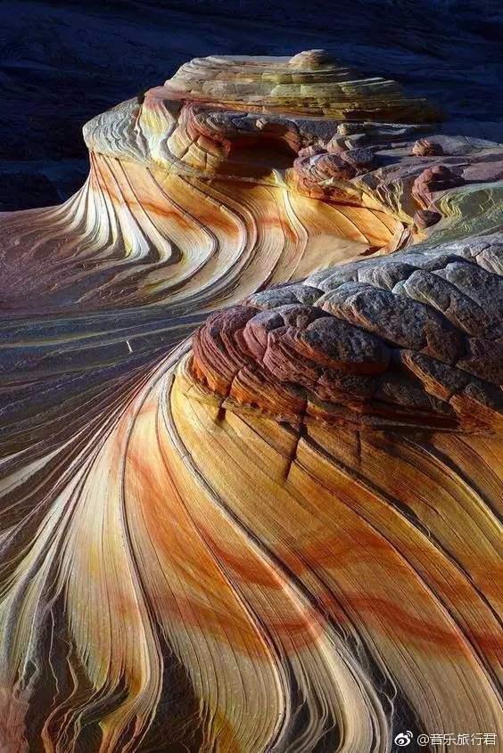 世界十大地质奇迹,美国狼丘犹他州石浪谷。