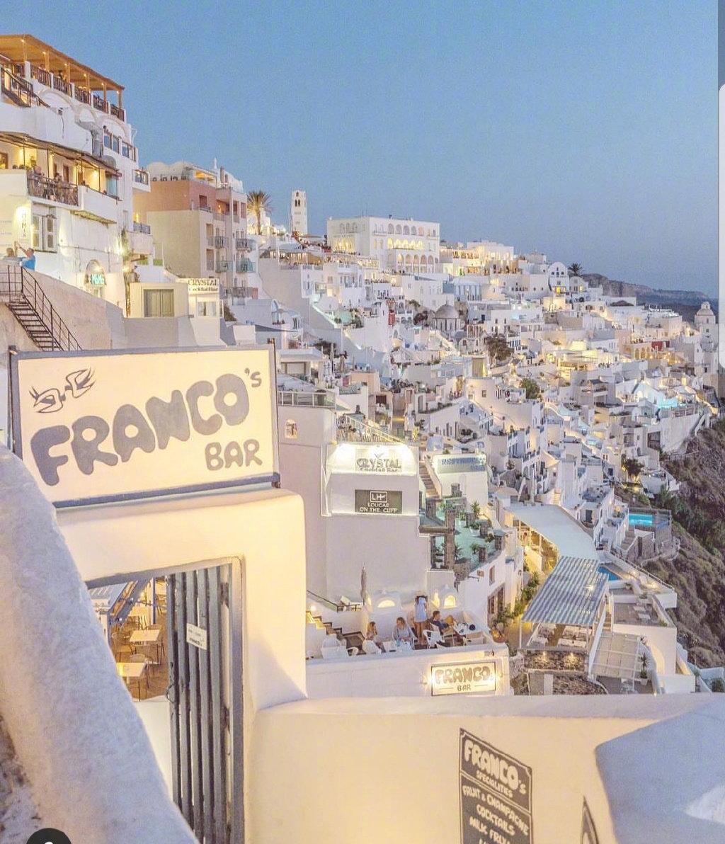 希腊圣托里尼,女生梦寐以求的旅行目的地