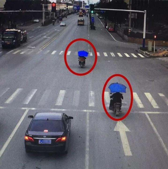 上栗又一批摩托车闯红灯被曝光 别再任性闯红灯