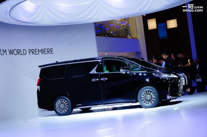 四座MPV新旗舰 雷克萨斯LM上海车展全球首发