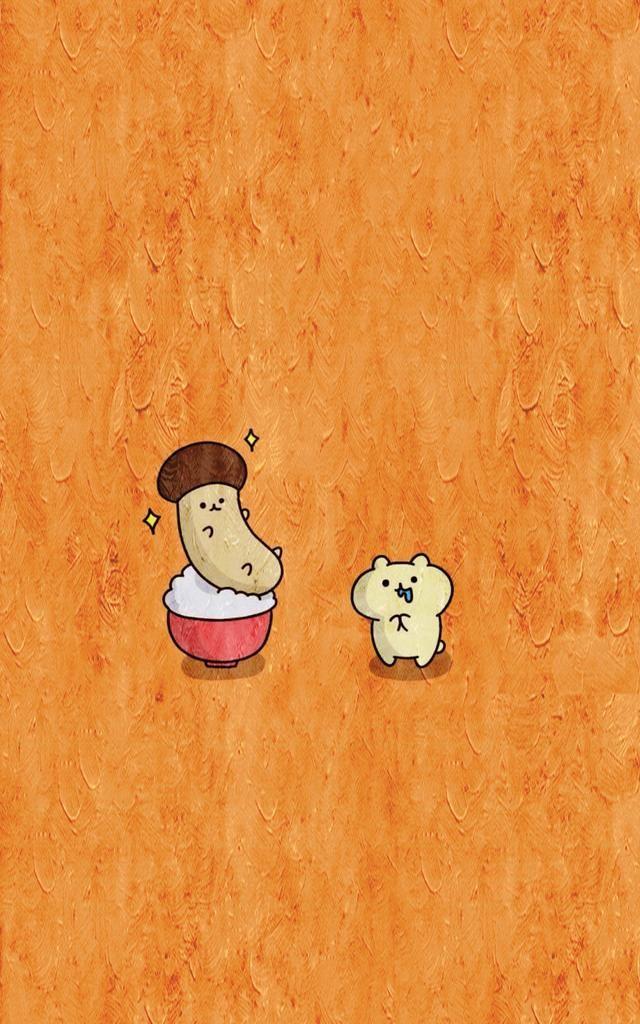 动漫壁纸:软萌简约风手机壁纸,每一张都好可爱