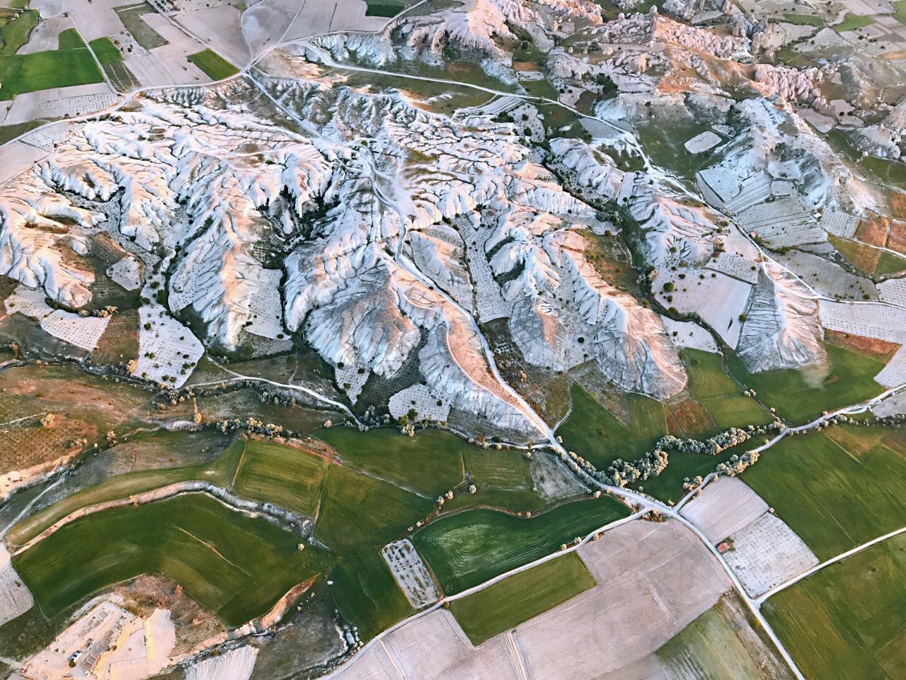土耳其卡帕多奇亚 热气球上的独特视角