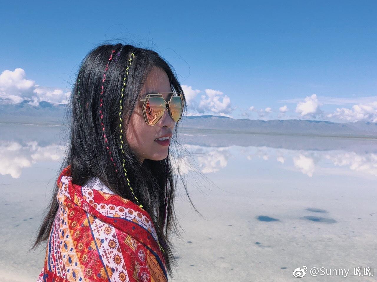 """茶卡盐湖,中国的""""天空之镜"""""""