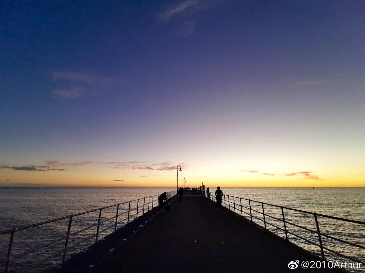 阿德莱德游记1:早上还在悉尼看日出