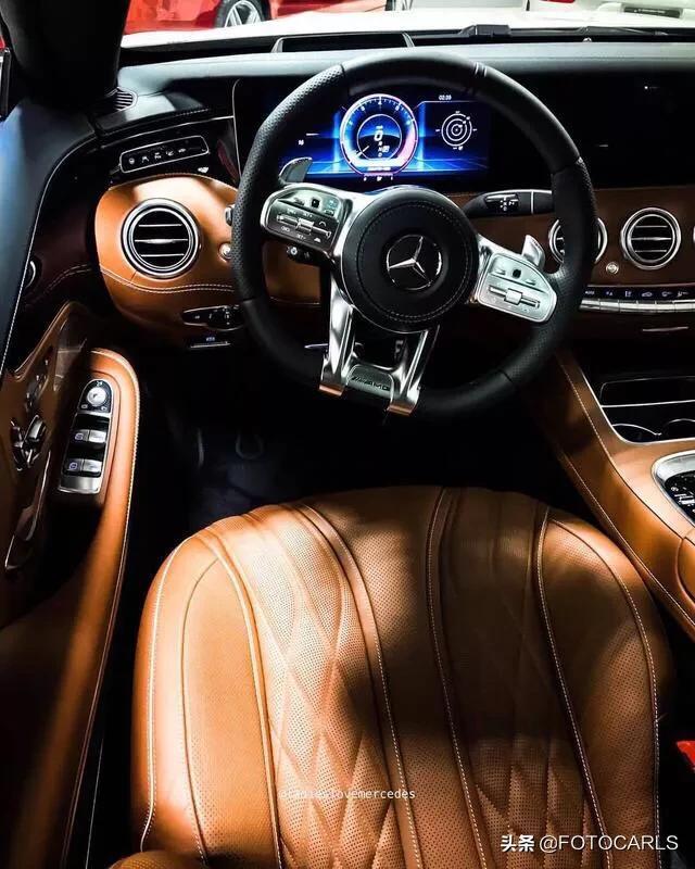 实拍|全新奔驰-AMG S63 Coupe,外观更带感,内饰无人能拒