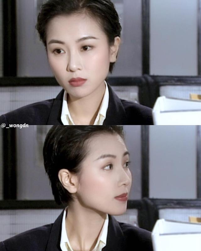 杨幂的复古发型输在哪里?90年代香港女星发型合集,今天依然时尚图片