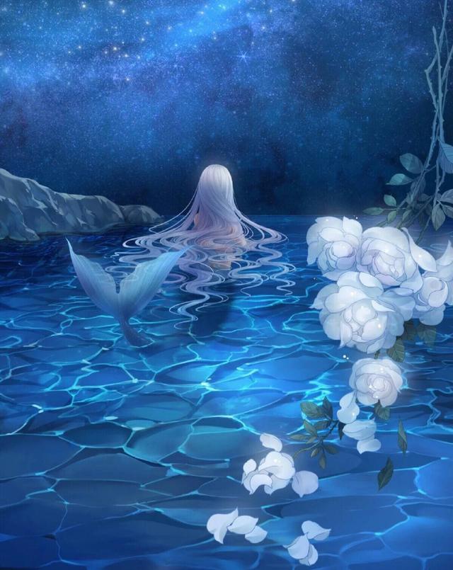 十二星座化身为人鱼梦幻,双子座是人鱼强势,摩羯座唯美如仙境!天蝎座女喜欢男人的公主图片