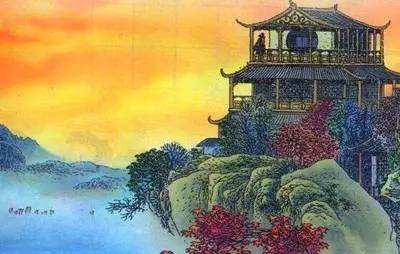 「诗歌推荐」经典佳作:唐代·王之涣《登鹳雀楼》图片