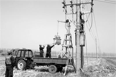 春耕将至 沈阳电力员工全力检修农电设施